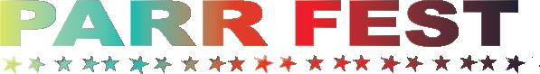 Parr Fest Logo Horizontal Gradiant